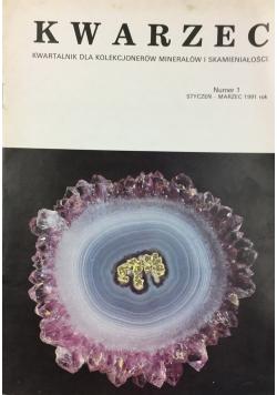 Kwarzec kwartalnik dla kolekcjonerów minerałów i skamieniałości nr 1