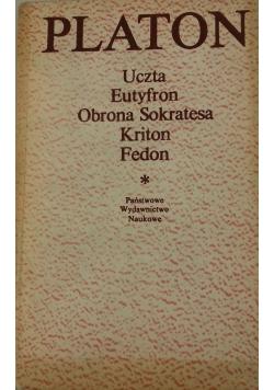 Platon Uczta/ Eutyfron/Obrona Sokratesa/ Kriton/Fedon