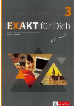 Exakt fur Dich 3 ćwiczenia + DVD LEKTORKLETT