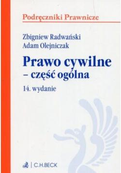 Prawo cywilne część ogólna 14 wydanie