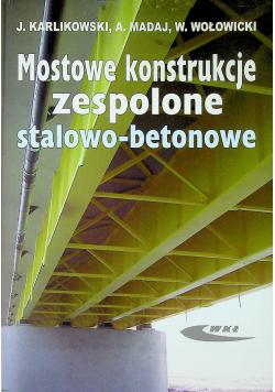 Mostowe konstrukcje zespolone stalowo betonowe