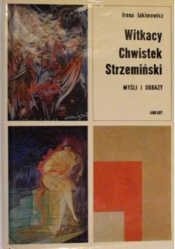 Witkacy Chwistek Strzemiński Myśli i obrazy