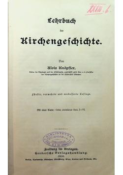 Lehrbuch der kirchengeschichte 1910r