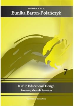 ICT in Educational Design 7
