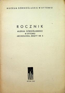 Rocznik muzeum Górnośląskiego w Bytomiu archeologia