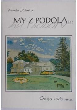 My z Podola autograf Jóźwiak
