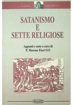 Satanismo e sette religiose