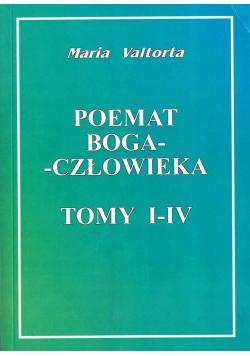 Poemat Boga człowieka tomy I IV