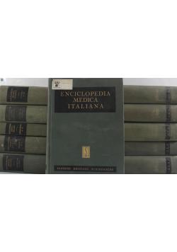 Enciclopedia medica Italiana 11 tomów