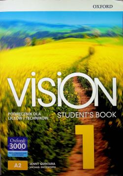 Vision Students Book 1 Podręcznik dla liceów i techników NOWA