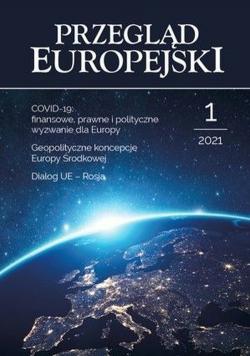 Przegląd Europejski 1/2021