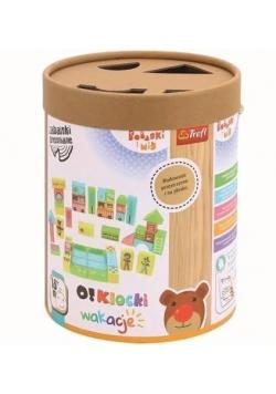 Zabawka drewniana - O!Klocki. Wakacje TREFL