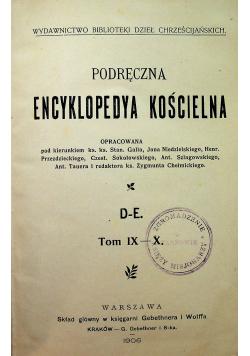 Podręczna encyklopedia kościelna Tom IX-X 1906 r