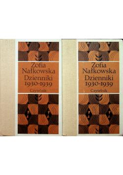 Nałkowska Dzienniki 1930 1939  2 tomy