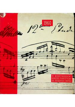 VI Międzynarodowy konkurs pianistyczny im Fryderyka Chopina