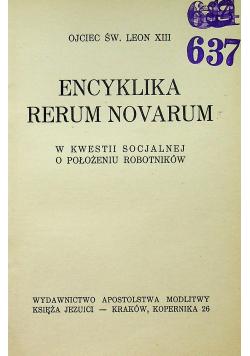 Encyklika Rerum Novarum 1939 r.