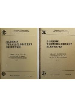 Słownik terminologiczny elektryki częśc 1 i 2