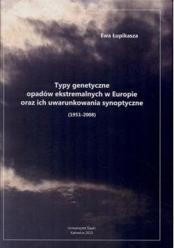 Typy genetyczne opadów ekstremalnych w Europie