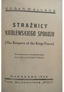 Strażnicy królewskiego spokoju, 1929 r.