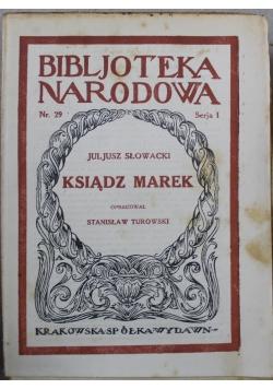 Ksiądz Marek 1921 r.