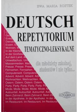 Deutsch repetytorium tematyczno leksykalne