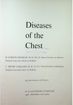 Differential Diagnosis of Diseases of the Chest