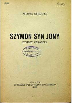 Szymon syn Jony 1948 r