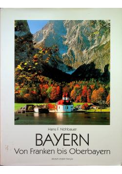 Bayern von franken bis oberbayern