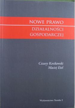 Nowe prawo działalności gospodarczej