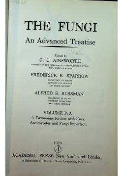 The fungi an advanced treatise