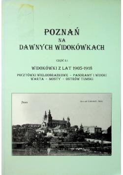 Poznań na dawnych widokówkach Część 2 1