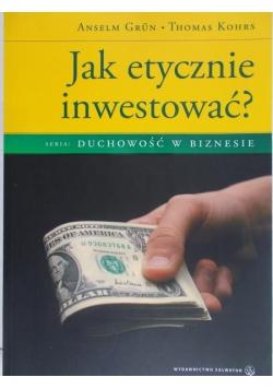 Jak etycznie inwestować
