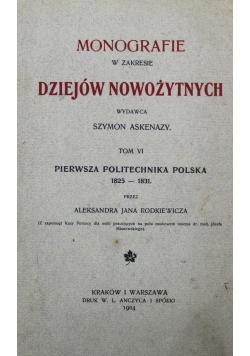Monografie w zakresie Dziejów Nowożytnych Tom VI 1904 r