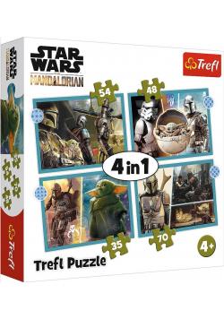 Puzzle 4w1 Mandalorian TREFL