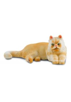Kot perski leżący