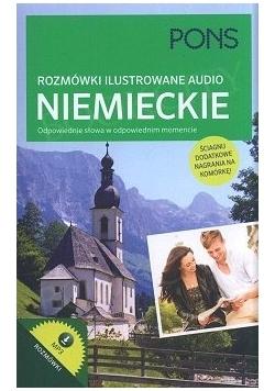 Rozmówki ilustrowane audio niemieckie
