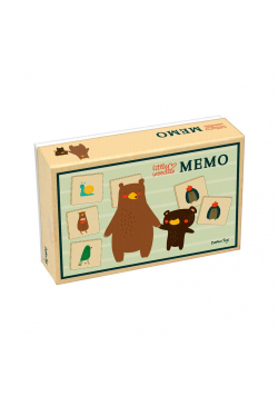 Memory, Gra pamięciowa dla Dzieci, Little Woodies