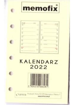 Kalendarz 2022 wkład A6 MEM/K/TNS