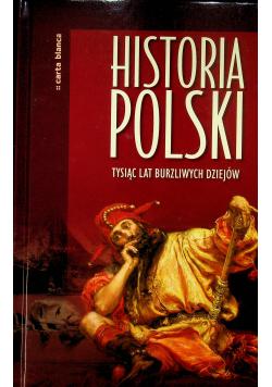 Historia Polski Tysiąc lat burzliwych dziejów