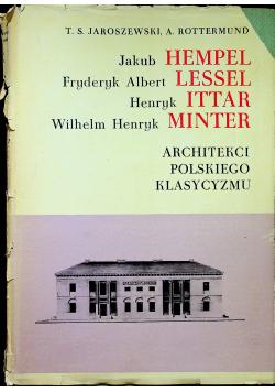 Architekci polskiego klasycyzmu