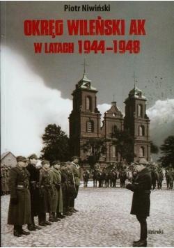 Okręg Wileński AK w latach 1944 1948