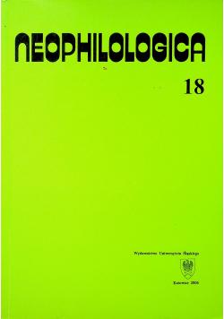 Neophilologica 17