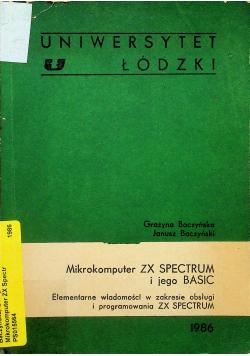 Mikrokomputer ZX Spectrum i jego basic