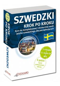 Szwedzki. Krok po kroku (2xksiążka + 5xCD + MP3)
