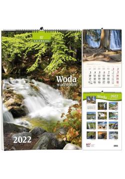 Kalendarz 2022 B3 7 plansz Woda