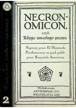 Necro Omicon czyli Księga umarłego prawa