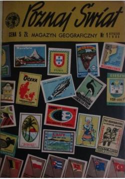 Poznaj Świat rocznik 1963 nr od I  do XII