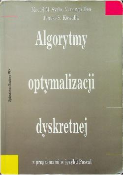 Algorytmy optymalizacji dyskretnej