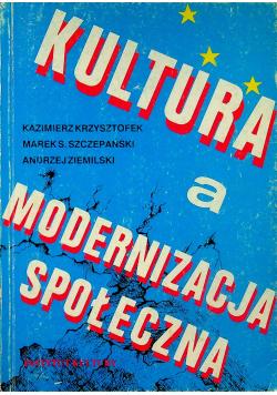 Kultura a modernizacja społeczna