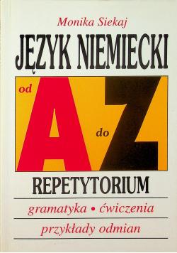 Język niemiecki od A  do Z Repetytorium